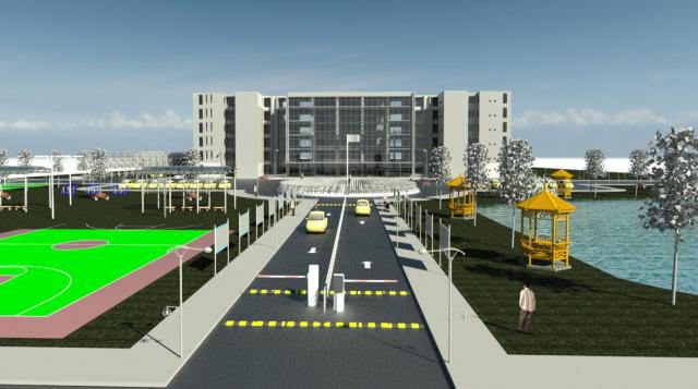 基于BIM技术的教学楼设计