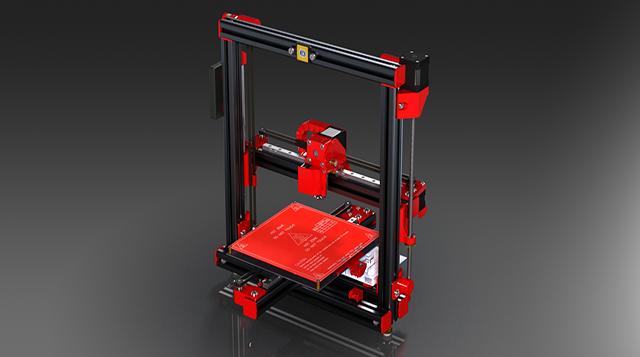 基于无线的3D模具打印机